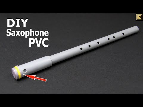 How To Make A Saxophone With A Simple PVC Pipe