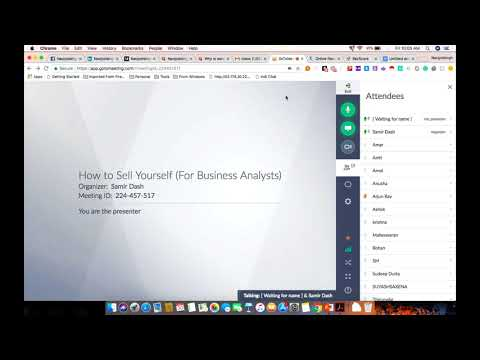 How to Sell Yourself as a Business Analyst