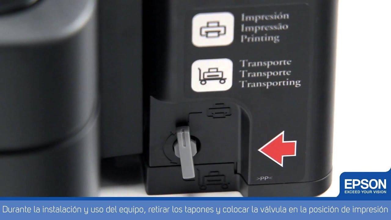 Impresora Multifuncional Epson con Tanque de Tinta L350 - YouTube
