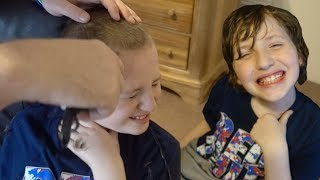 Autistic Boy Gets FIRST Haircut in Over A YEAR!
