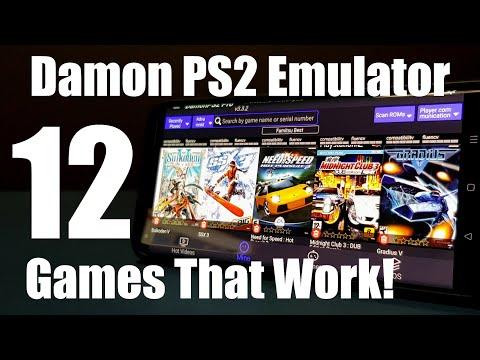 Damon PS2 Emulator
