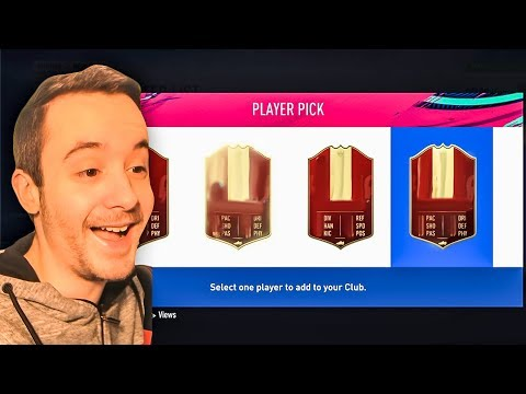MY RED PLAYER PICK FUT CHAMPS REWARDS, PLEASE MABPPE!!! - FIFA 19 ULTIMATE TEAM PACK OPENING
