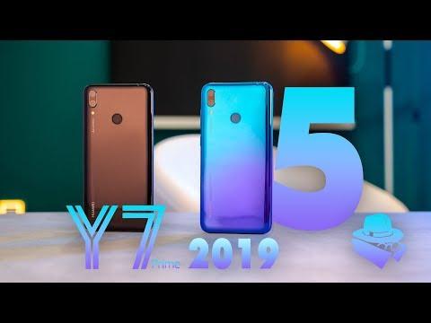 5 مميزات مخفية في HUAWEI Y7 Prime 2019 🔥