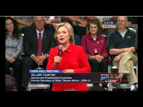Hillary Clinton addresses evolution on same-sex marrage