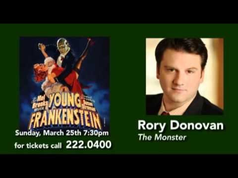 YOUNG FRANKENSTEIN Interview with Live In Tallahassee