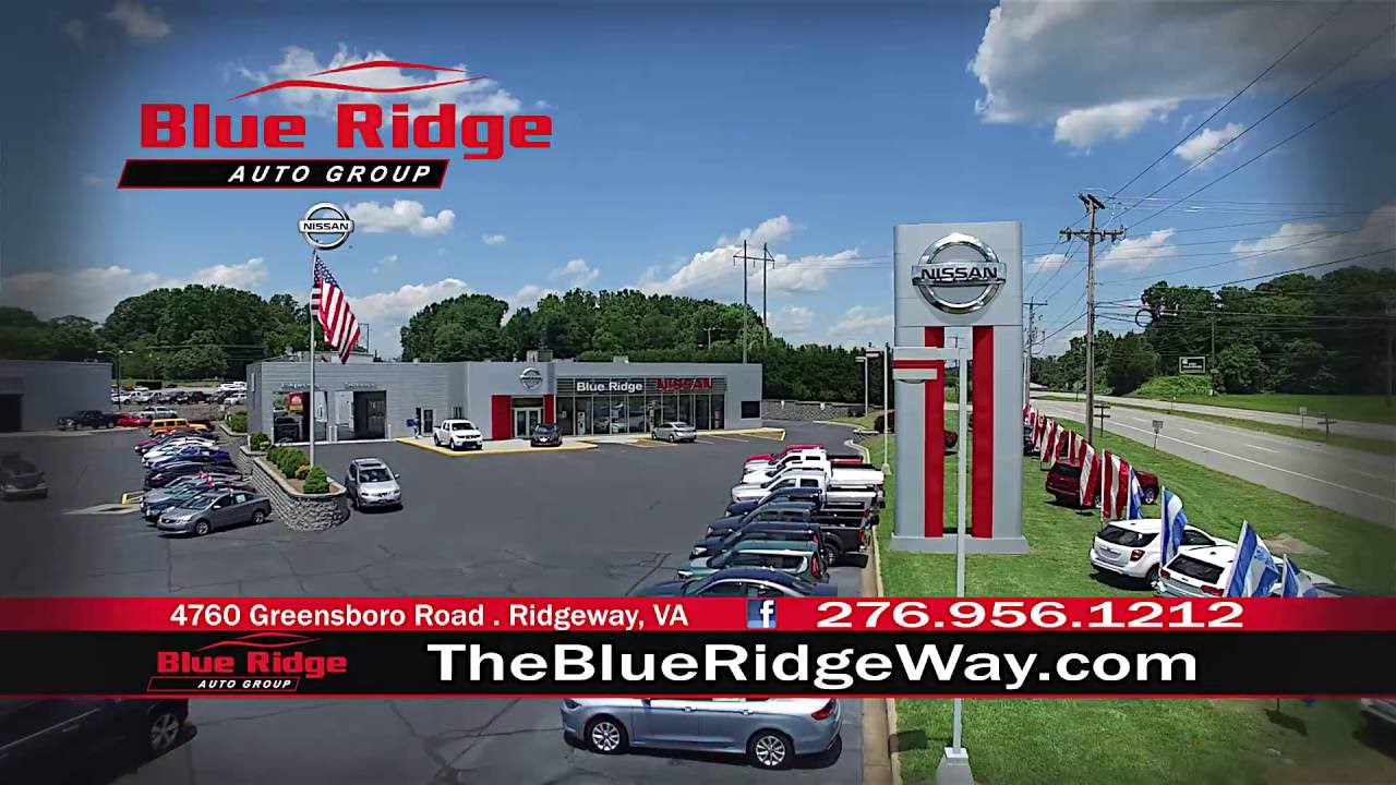 Blue Ridge Nissan >> Blue Ridge Nissan Of Martinsville Summer Clearance Event