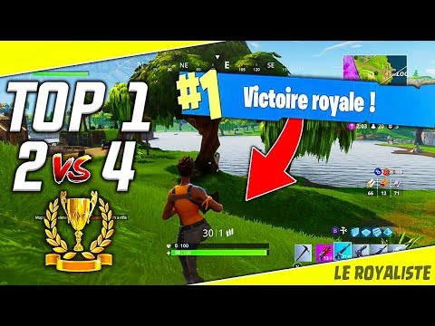 smotret video fortnite defi faire un top 1 en 2 vs team de 4 fortnite battle royale fr onlajn skachat na mobilnyj - defi a faire sur fortnite
