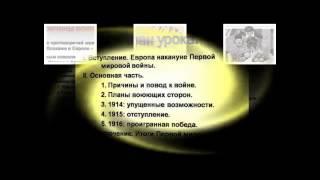 Презентация PowerPoint на тему Первая Мировая Война