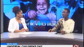 International Children's Day - News Desk on JoyNews (20-11-18)