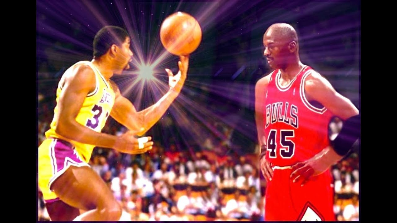 Matchup of Legends: Magic Johnson Vs Michael Jordan? - Who Is The Best  Players of All Time? HD