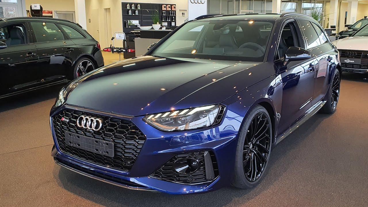 2020 Audi RS4 Avant tiptronic | Navarrablau - YouTube
