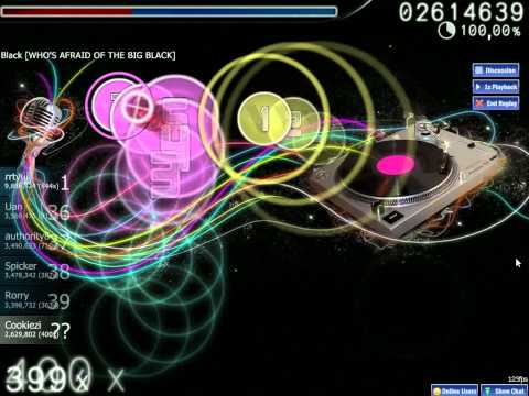 Most Insane OSU! Beatmap EVER!!! - The Quick Brown Fox [Cookiezi Plays] [HD]