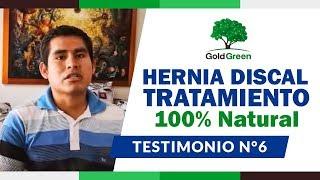 Hernia Discal Tratamiento Natural - Hernia Discal Lumbar - Hernia de Disco - HERNIA TESTIMONIO 6