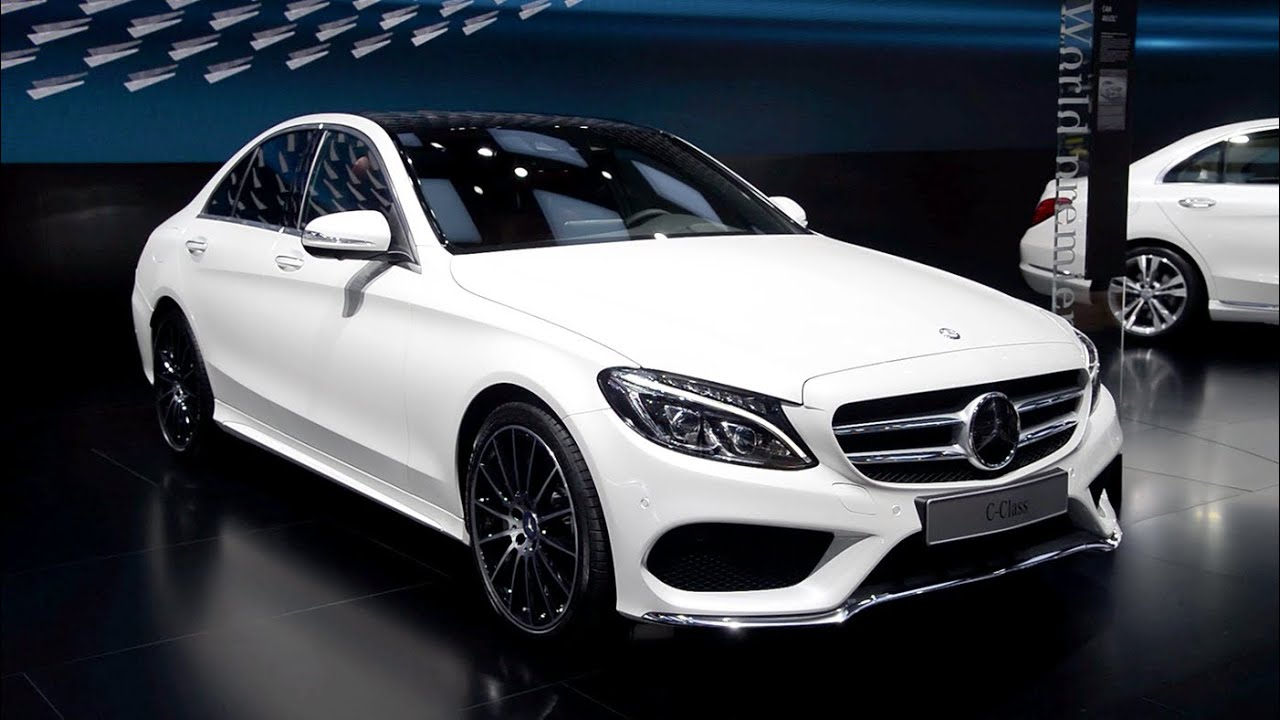 Awesome 2015 MercedesBenz CClass  Detroit 2014 Walkaround  YouTube