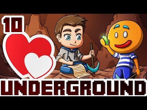 Minecraft Underground #10 Amour et Donjon