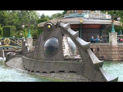 Inside Captain Nemo´s Nautilus at Disneyland Paris