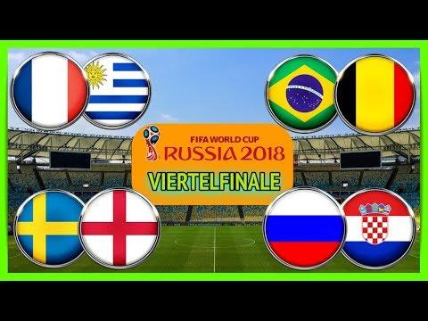 FIFA 18 WM Prognose  I VIERTELFINALE I Schweden - England I Russland - Kroatien I Deutsch (HD)