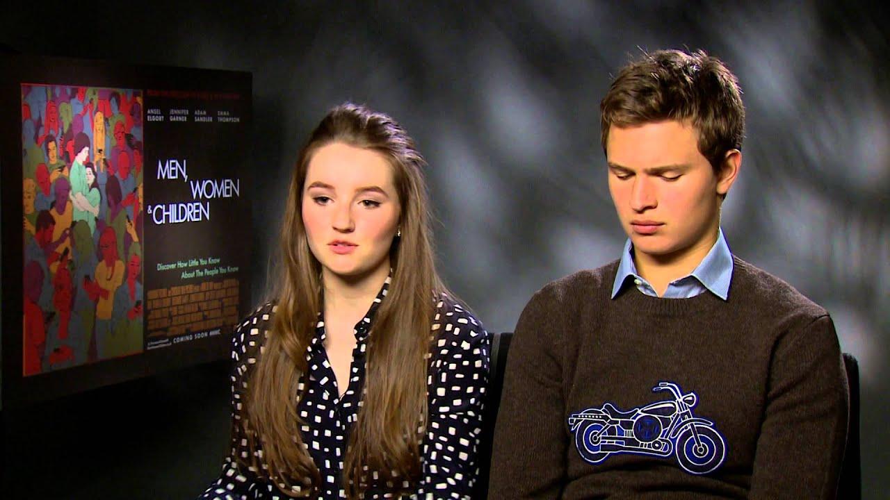 Violetta Komyshan & Ansel Elgort