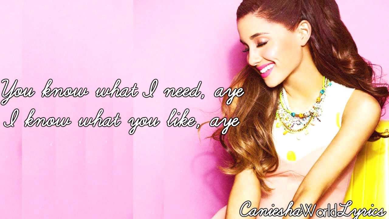 Ariana Grande (feat. Big Sean) - Right There (Lyrics Video ...