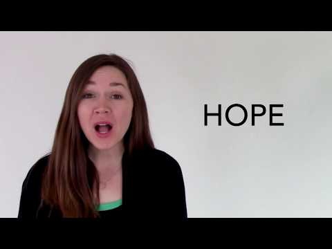 Hope - Spotlight's Word of the Day