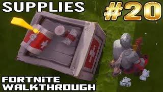 Fortnite Walkthrough #20 - Medical Supplies | Complete Gameplay