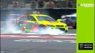 Earnhardt Jr. takes a spin, hits Danica Patrick thumbnail