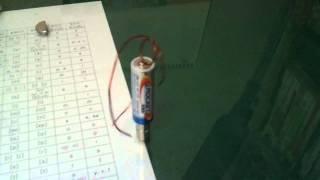 Homopola electromotor. 호모폴라 전동…