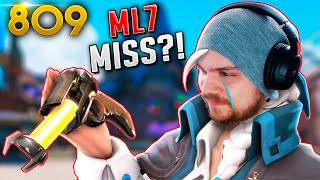 *NEVER SEEN* ML7 Missing a SLEEP DART!?! | Overwatch Daily Moments Ep.809 (Funny and Random Moments)
