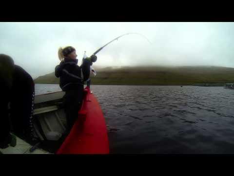 Fishing in Faroe Islands