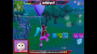 LIVE FORTNITE MOBILE FR FRANÇAIS DÉTENTE GO TOP 1