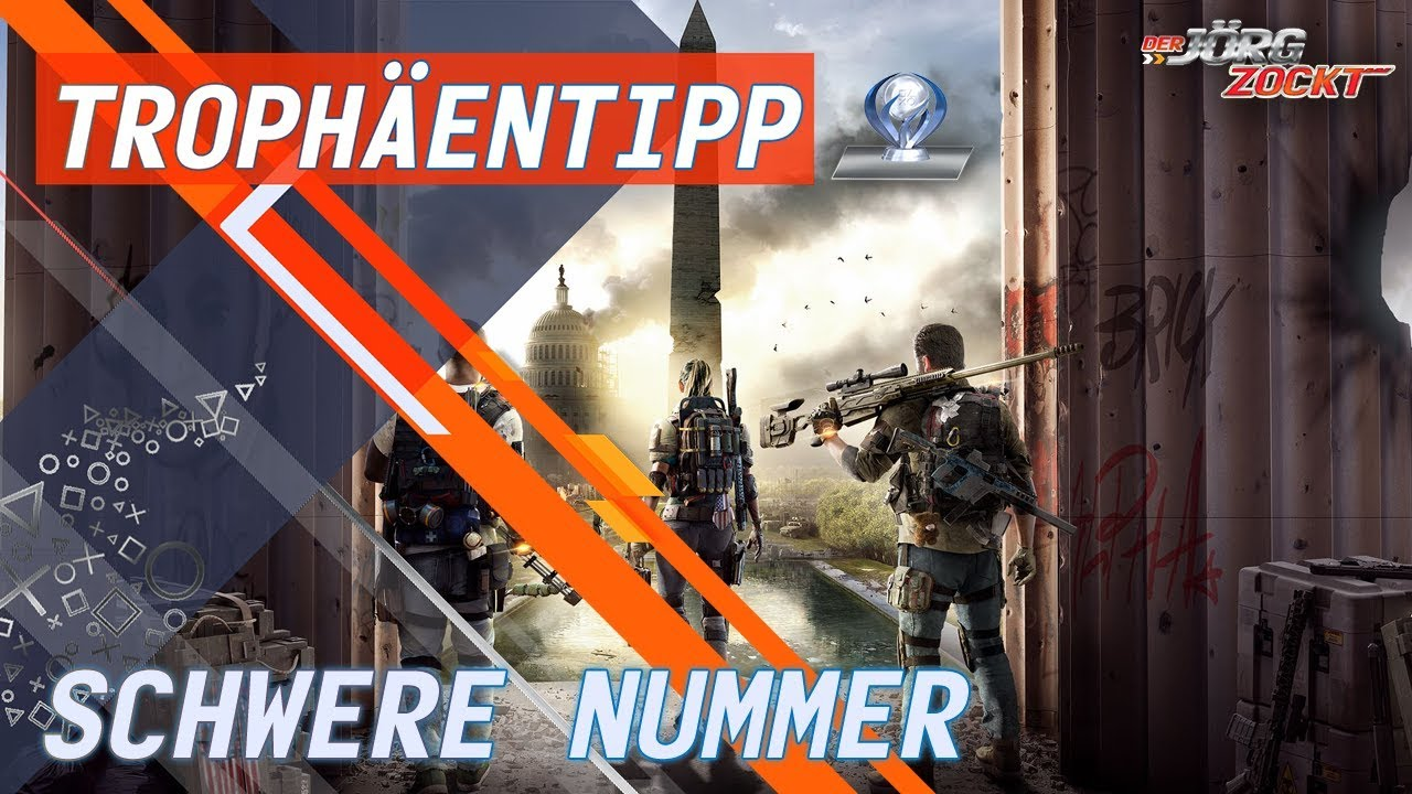 the division 2 trophäen schwere nummer
