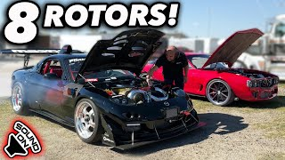 8 ROTORS of INSANITY - TWO 4 Rotor RX-7's! (Extremely Rare)