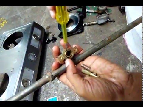 Gas stove dismantling India
