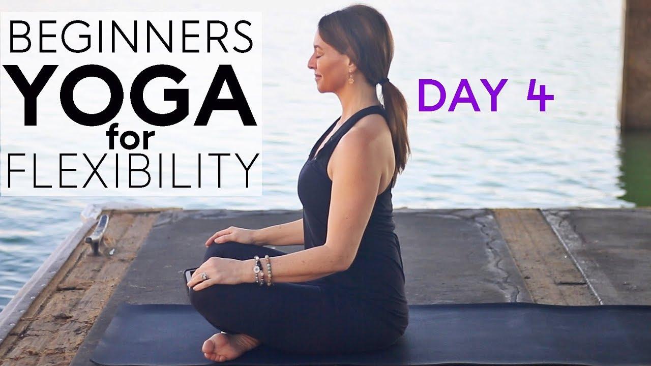 Beginners Yoga For Flexibility 10 Min Day 4 Fightmaster Yoga Videos Youtube