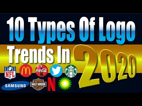 10 Types of Logo Design Trends in 2020 || How Many types of Logo Design are there ?