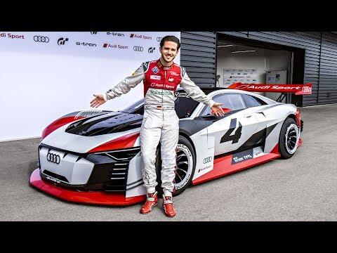 Audi e-tron Vision GT | Wir fahren die 815PS Waffe! | Daniel Abt