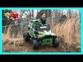 Unboxing Assembling Riding The Monster Jam Grave Digger 24-Volt Battery Powered Ride-On