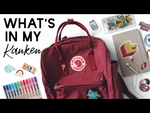 What's In My Backpack (kanken) // summer edition
