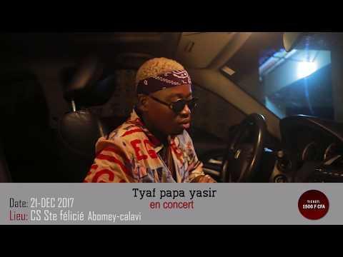 TYAF EN CONCERT AU CS STE FELICITE DE CALAVI CE 21 DECEMBRE 2017