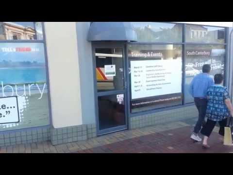 Timaru Tourism is not working - Ron E Bishop Timaru NZ