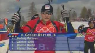 видео Зимние виды спорта: Биатлон