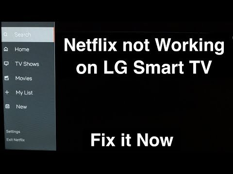 Netflix Not Working On LG Smart TV  -  Fix It Now