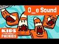 O_E | Fun Phonics | How to Read | Magic E | Made by Kids vs Phonics