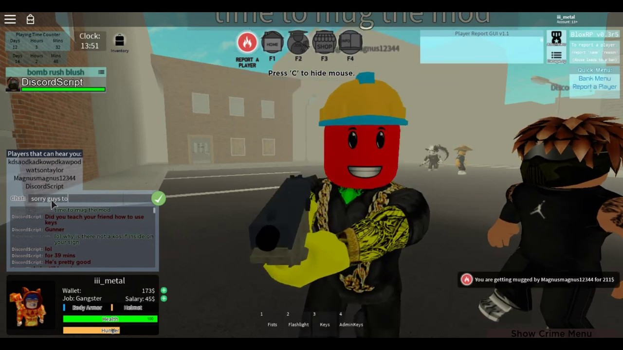 Blox Rp I Do Alot Of Gift To Someone He Begin Play Blox Rp So