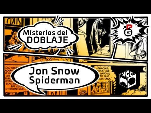 DIRECTO: Video Game Comic 2017   El doblaje de Jon Snow y Spiderman #VGC2017