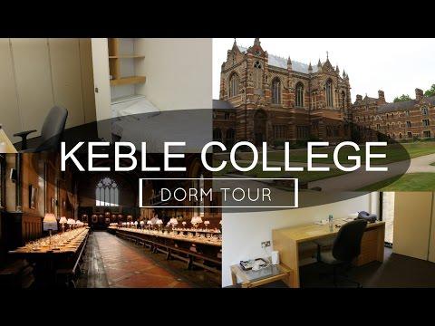 Oxford University Keble College Dorm Tour