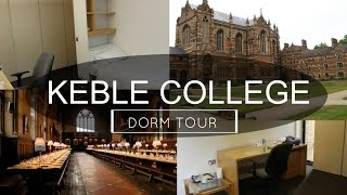 Oxford University Keble College Dorm Tour