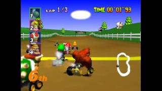 3 CARRERAS 1 DESTINO | Mario Kart 64