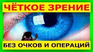Упражнения для глаз. Амблиопия