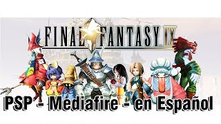 Final Fantasy IX PSP - Mediafire - en Español